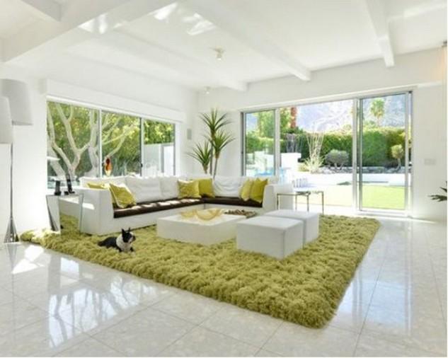 модульный белый диван