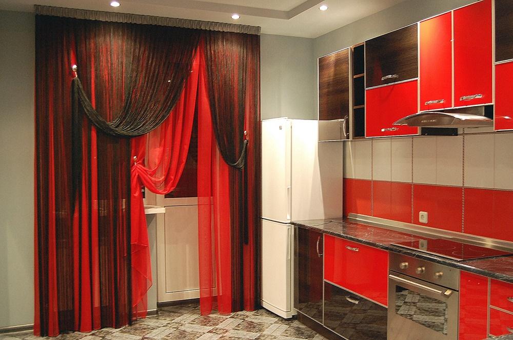 кисея на кухне