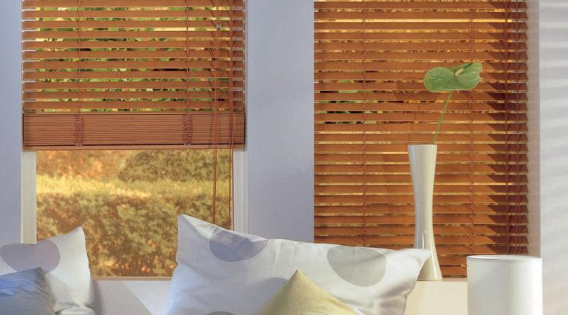 пластиковые окна с жалюзи